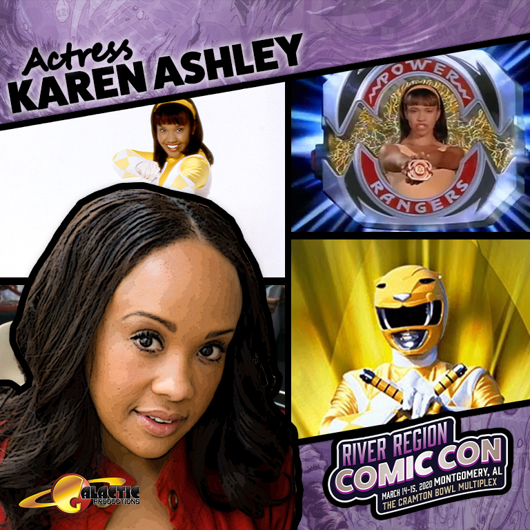 Karan Ashley has had a career that has spans over 20 years. Her big break came when she landed the role of Aisha the Yellow Power Rangers on Mighty Morphin' Power Rangers. Even though Karan Ashley has worn many hats she still has the desire to take her career to an all new level and studies with BANG Improv.